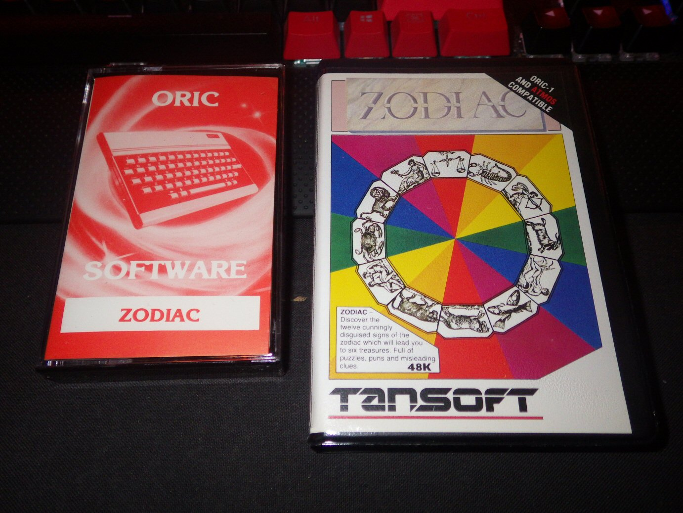 Zodiac (Tansoft) in two different formats