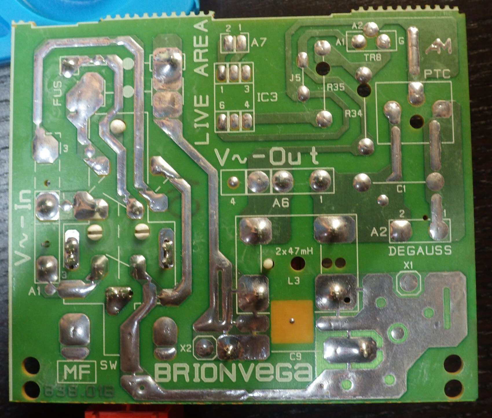 Switch board - Reverse