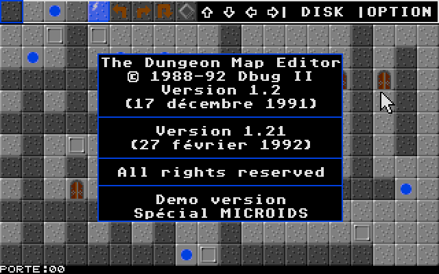 Dungeon Map Editor