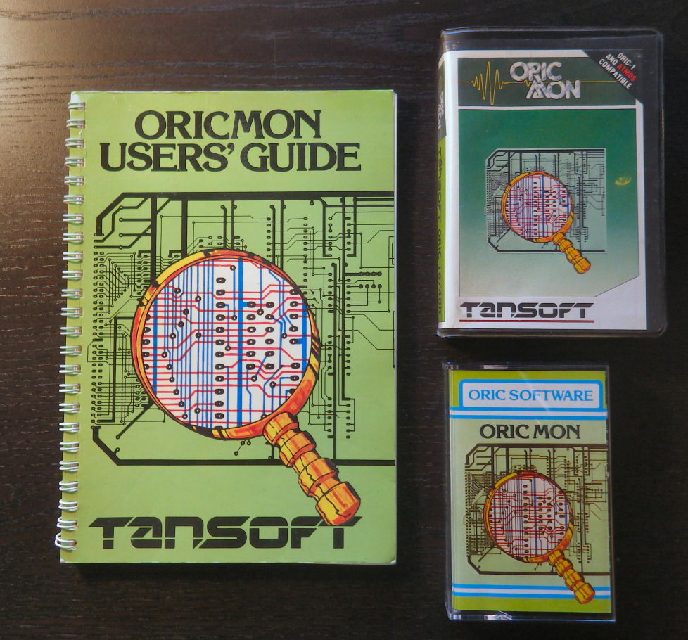 Oric Mon - Crystal and Clam Shell versions