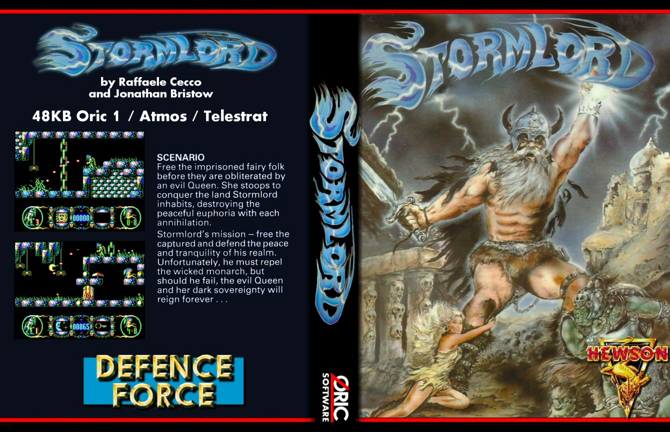 Stormlord, dark blue edition