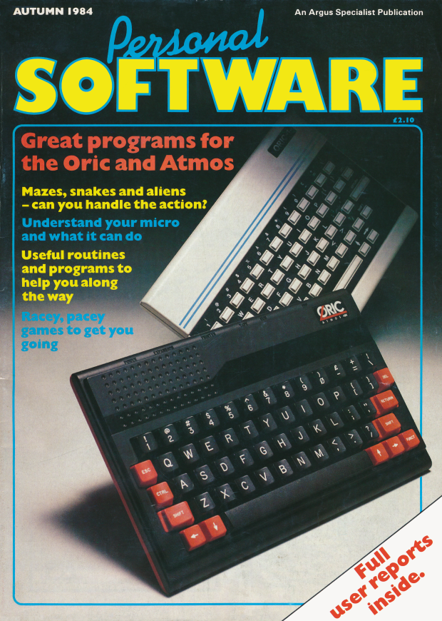 Personal Software - Autumn 1984